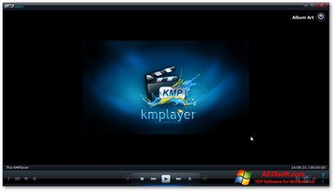 スクリーンショット KMPlayer Windows 10版