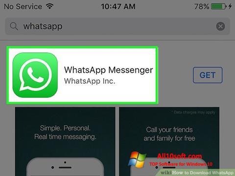 スクリーンショット WhatsApp Windows 10版